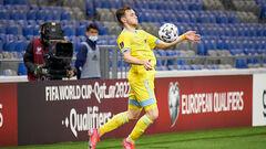 Гравець Казахстану, який забив два голи Україні, попався на допінгу