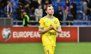 ОФИЦИАЛЬНО. УЕФА возбудил дело против игрока Казахстана, забившего Украине