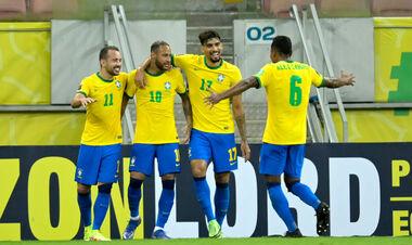 Бразилия выиграла у Перу в матче отбора на ЧМ-2022