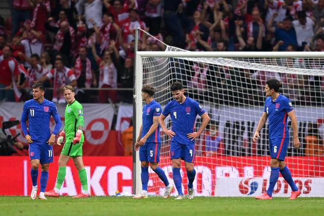 Англия впервые за 25 лет не сделала ни одной замены во время матча