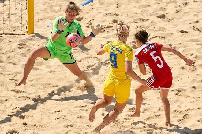 Пляжный футбол. Украинцы стартовали с поражений в суперфинале Евролиги