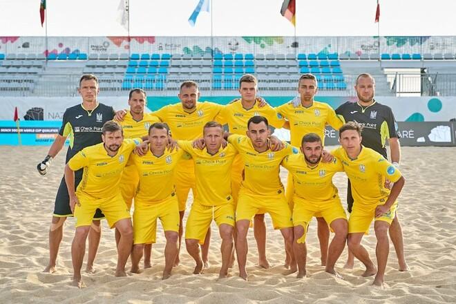 Украина – Португалия – 5:7. Неудача на старте Евролиги по пляжному футболу
