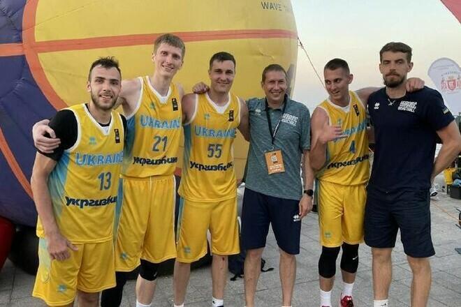 Известен состав сборной Украины на чемпионат Европы по баскетболу 3х3