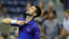 Джокович победил Берреттини и вышел в полуфинал US Open
