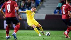 У матчі з Чехією за збірну України дебютувало відразу 5 гравців