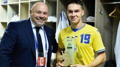 Названо головного Лева матчу України проти Чехії