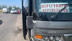 ФОТО. Автобус с хоккеистами Белого Барса попал в ДТП