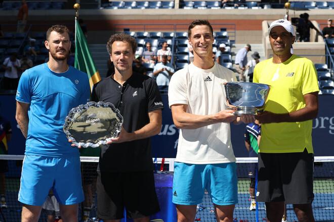 Известны чемпионы US Open в парном мужском разряде