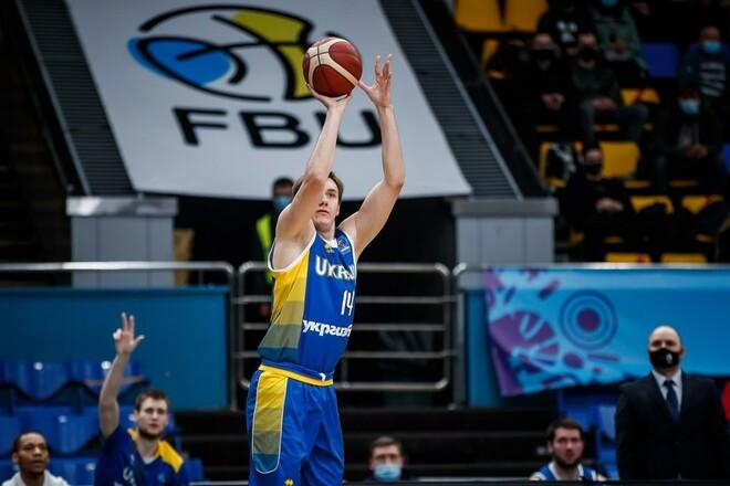Украина подала заявку на проведение мужского Евробаскета-2025