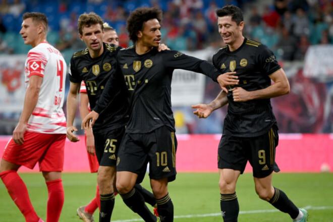 Левандовски забил в 14 матче подряд, Бавария обыграла Лейпциг