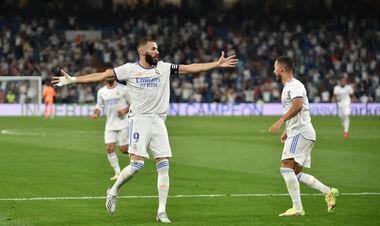 Бензема вышел на 10-е место по голам в Ла Лиге