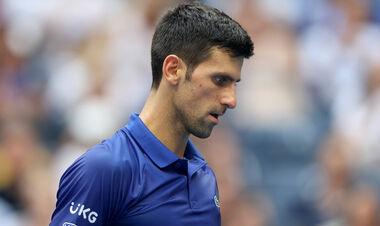 ВИДЕО. Джокович уничтожил свою ракетку в финале US Open и получил штраф