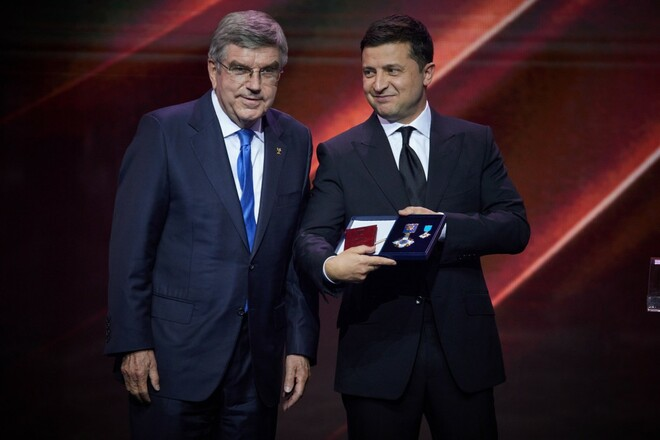 Владимир ЗЕЛЕНСКИЙ: «Большая мечта – Олимпиада в Украине»