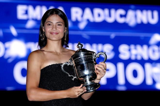 Радукану заработала самое большое количество очков в истории за один турнир