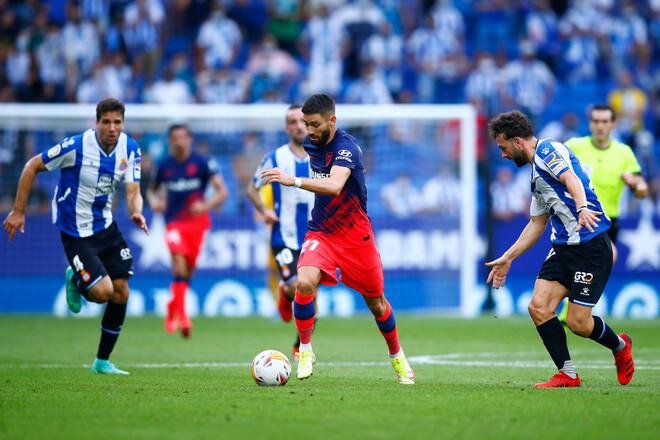 Эспаньол – Атлетико – 1:2. Видео голов и обзор матча