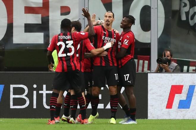 Серия А. Милан обыграл Лацио и возглавил таблицу