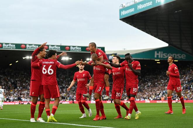 Лидс – Ливерпуль – 0:3. Видео голов и обзор матча