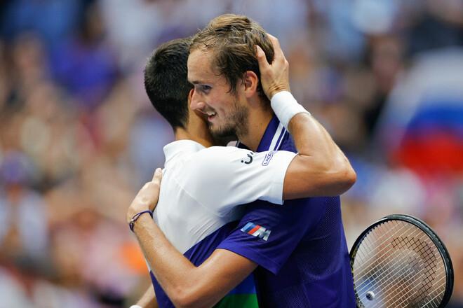 ВИДЕО. Как Джокович проиграл Медведеву в финале US Open