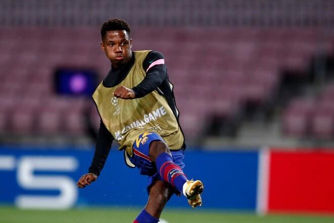 Барселона работает над новым контрактом для Фати