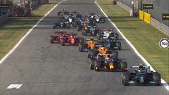 Формула-1. Гран-при Италии. Авария Макса и Льюиса! Текстовая трансляция