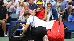 Радукану рассказала о медперерыве в последнем гейме финала US Open