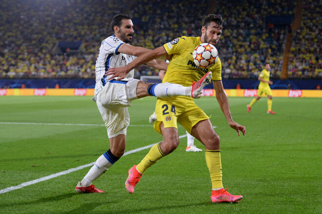 Вильярреал – Аталанта – 2:2. Видео голов и обзор матча
