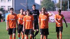 Юношеская лига УЕФА. Шериф U-19 - Шахтер U-19. Смотреть онлайн. LIVE