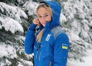 ФОТО. Красавица Билодид в зимнем лесу