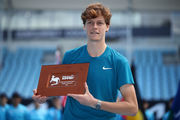 Синнер и Эванс выиграли турниры в Мельбурне