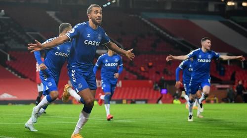 Эвертон вырвал ничью в результативном сражении с Манчестер Юнайтед