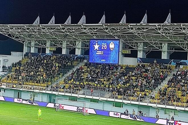 ВИДЕО. Момо Янсане забил для Шерифа второй гол в ворота Шахтера