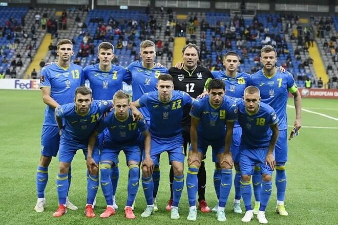 Рейтинг ФИФА. Без побед движемся вниз. Сборная Украины потеряла две строчки