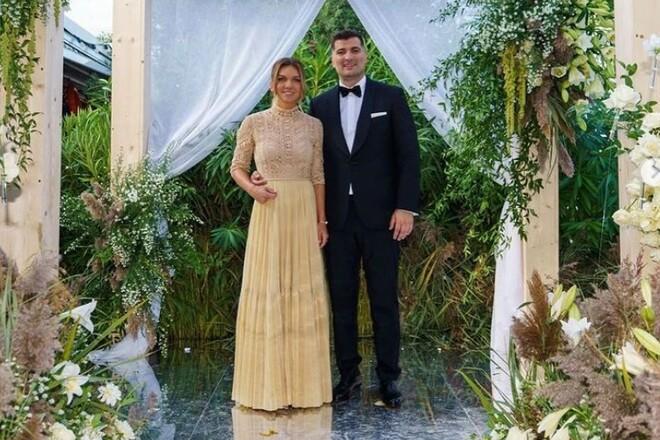 ВИДЕО. Симона Халеп показала свой первый свадебный танец
