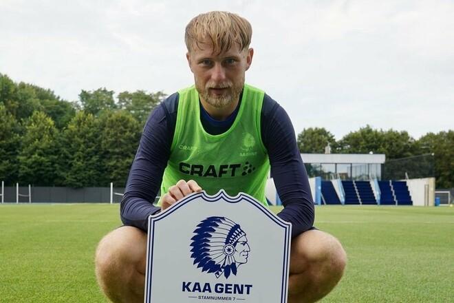 Безус отдал голевую передачу за Гент в матче Лиги конференций в Эстонии