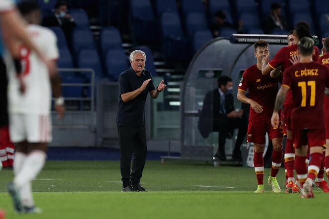 Рома – ЦСКА Софія – 5:1. Моуріньо на висоті. Відео голів та огляд