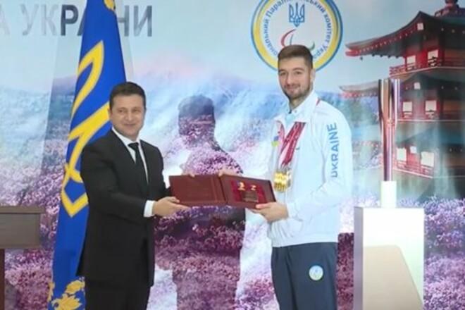 Звезда Паралимпиады-2020 Крипак получил звание Героя Украины