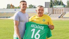 Ужгород підписав українського захисника