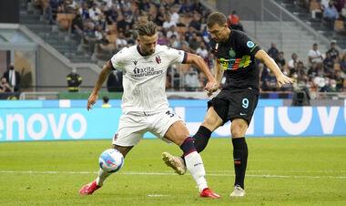 Интер забил шесть мячей в ворота Болоньи. Джеко оформил дубль