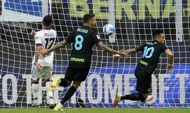 Интер — Болонья — 6:1. Видео голов и обзор матча