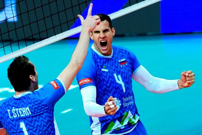 Сборные Италии и Словении вышли в финал чемпионата Европы