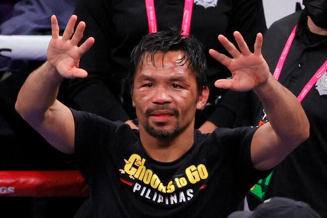 Пакьяо баллотируется в президенты Филиппин