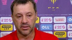 Юрий ВИРТ: «До удаления мы вообще не уступали днепровской команде»