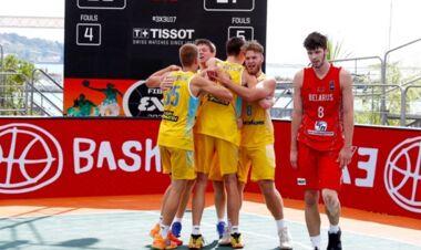 Мужская и женская сборные Украины U-17 вышли в полуфинал Евробаскета 3x3