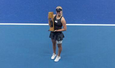 18-летняя Таусон выиграла второй турнир WTA в сезоне