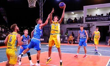 Мужская сборная Украины U-17 завоевала серебро Евробаскета 3х3