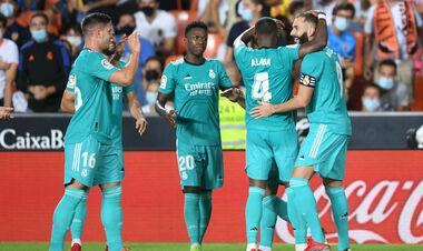 Валенсия – Реал Мадрид – 1:2. Видео голов и обзор матча
