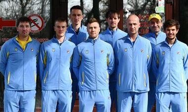 Украина узнала потенциальных соперников в стыковых матчах Кубка Дэвиса