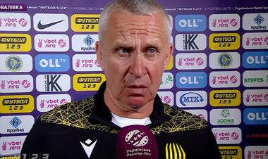 Рух остался без главного тренера на матч Кубка Украины