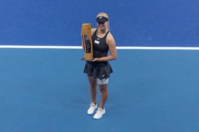 Towson, 18, wins second WTA of the season
