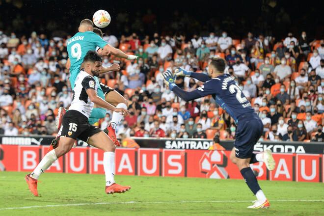 Два гола в конце игры. Реал одержал волевую победу над Валенсией